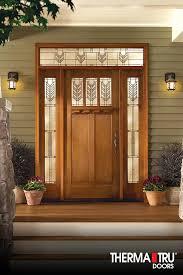 best fiberglass door made in canada home decor window door therma tru classic craft american style collection fiberglass door