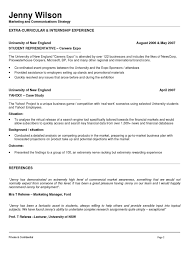 Resume Samples In Usa by Marketing And Communications Resume New Grad Entry Level