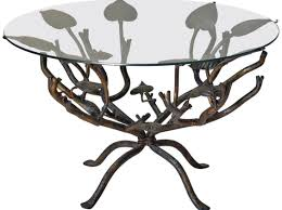 Oval Wrought Iron Patio Table Table Commendable Black Wrought Iron Coffee Table With Glass Top