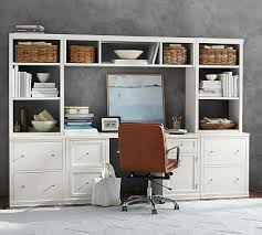 file cabinet with hutch logan small office suite with file cabinets bridge pottery barn