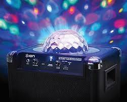 ion bluetooth speaker with lights ion audio party rocker live wireless speaker with party lights and