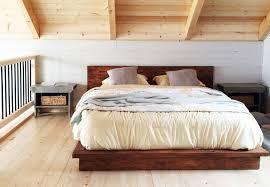 Rustic Wood Bedroom Sets - rustic wood bed frame rustic wood minimalist bed frame twin full