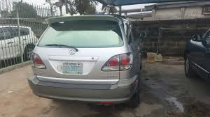 lexus rx300 for sale in nigeria registered lexus rx300 2002 available for sale autos nigeria