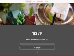 wedding rsvp websites best websites for wedding guests to rsvp
