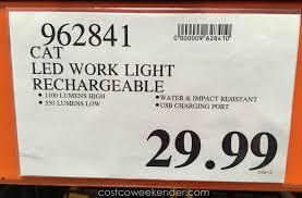 cat 324122 rechargeable led work light best flashlight online cat flashlight 324122