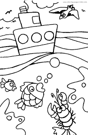 summer color coloring pages kids holiday u0026 seasonal