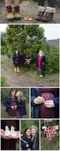 maternity photography session at christmas tree farm