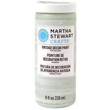 martha stewart crafts vintage décor paint