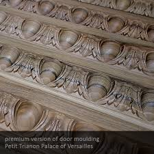 sets of luxury carved door ornaments