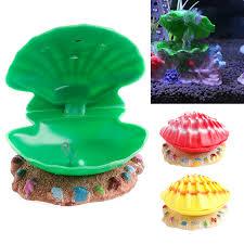 decoration aquarium fish tank air scallop shell ornaments
