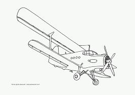 coloring airplanes u2013 letmecolor
