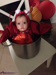 Lobster Costume Lobster In A Pot Baby Halloween Costume Photo 2 2
