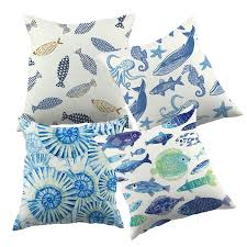 Cushion Covers For Sofa Pillows by Compare Prices On Blue Throw Pillows Online Shopping Buy Low