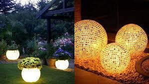 attractive garden light ideas onejive comonejive com