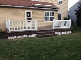 cute backyard deck in lancaster pa stump u0027s decks u0026 patio contractor