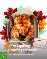 turkey day timeline checklist preparing for thanksgiving