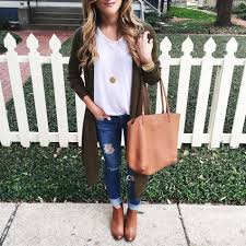 thanksgiving idea open front cardigan my style