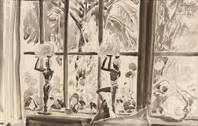 ornaments on a window sill 5 others 6 works by porter woodruff on artnet