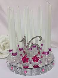 sweet 16 table centerpieces sweet 16 candle cake topper cake topper centerpiece
