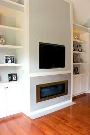 diy fireplace mantel on brick wall gas remarkable insert zhydoor