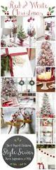 classic red u0026 white christmas style series the happy housie