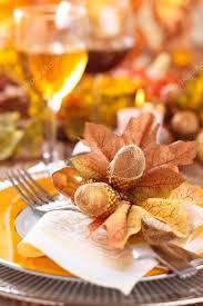 thanksgiving dinner decoration stock photo vitaina 125103888