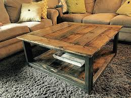 coffee table building plans homemade rustic coffee table inspirational coffee tables pallet wood