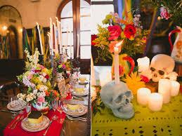 dia de los muertos wedding ideas ruffled