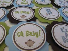 monkey boy baby shower thank you cards 8 ct boy baby showers