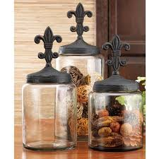 fleur de lis kitchen canisters cheap large glass canisters find large glass canisters deals on