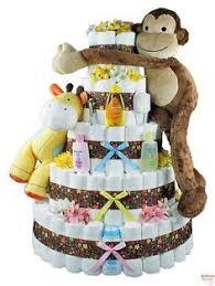 giraffe safari jungle diaper cake jungle theme baby shower
