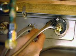installing kitchen sink faucet how to install a single handle kitchen faucet how tos diy