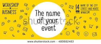 banner design event workshop banner design stock vector 480682483