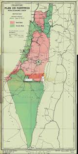 Isreal Map Detail Map Of Unscop Partition Plan For Palestine Majority Report
