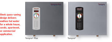 tempra whole house tankless electric water heaters stiebel