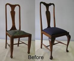 Recovering Dining Chairs Best 25 Reupholster Dining Chair Ideas On Pinterest Diy