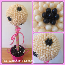 polka dot jelly bean topiary lolly bouquet the wonder factory
