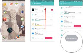 fitbit app android how to use the dashboard in fitbit for android android central