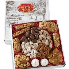 gift baskets to send send pecan gift baskets priester s pecans