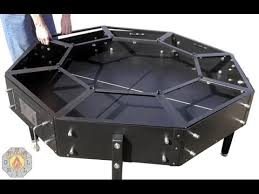 octagonal jag grill bbq table youtube