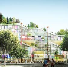 bureau de change clichy cbre et dgt architects ecomachine site clichy batignolles