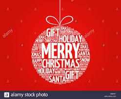 merry word cloud holidays lettering stock