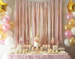 gold backdrop pink gold sparkle sequin fabric backdrop with lace wedding