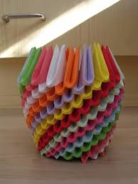 Flower Vase Crafts Creative Craft U2013 65 Fancy Things You Can Create Out Of Paper And