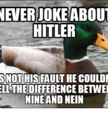 Nein Meme - 25 best memes about hitler nein meme hitler nein memes