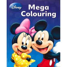 disney mickey mouse u0026 mega colouring book disney