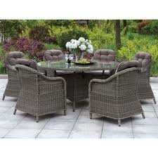 Wicker Patio Dining Table Wicker Outdoor Dining Tables For Less Overstock