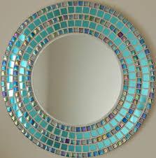 Mosaic Bathroom Mirror Mirrors Stunning Mosaic Bathroom Mirror Glass Tile Mirrors For
