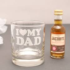 Old Fashioned Gift Set Mini Alcohol Gift Set For Dads With Personalised Glass By