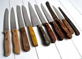 top 10 kitchen knives collection of 10 large french vintage kitchen knives carving